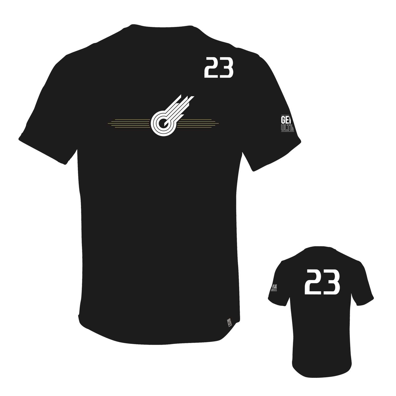 Gentle t-shirt 2017 zwart
